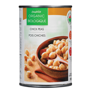 Compliments Organic Chick Peas 398 ml