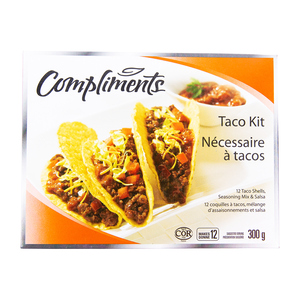 Compliments Taco Dinner Kit 300 g