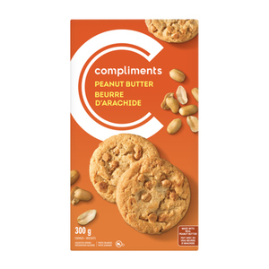 Compliments Peanut Butter Cookies 300 g