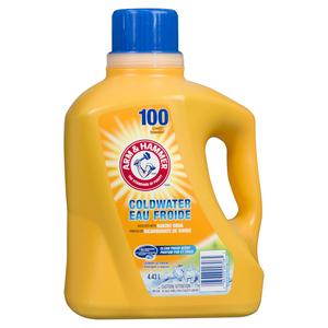 Arm & Hammer Coldwater Liquid Laundry Detergent Clean Fresh 100 Loads 4.43 L