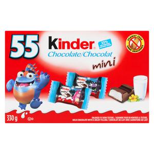 Kinder Mini Chocolate Halloween Candy 55 EA 330 g