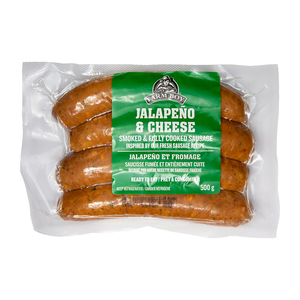 Farm Boy Smoked Sausages Jalapeno & Cheese 500 g