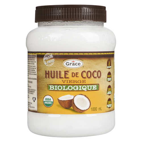 Grace Organic Virgin Coconut Oil 1 L