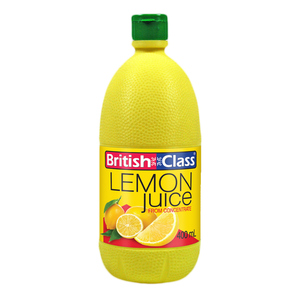 British Class Lemon Juice 400 ml