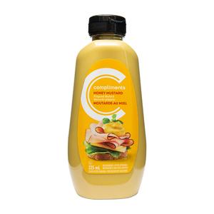 Compliments Prepared Mustard Honey 325 ml