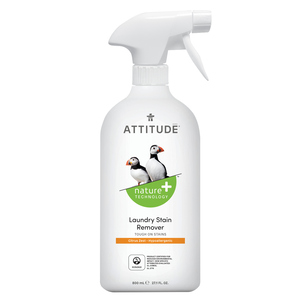 Attitude Nature+ Laundry Stain Remover 800 ml