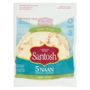 Santosh Naan Garlic 500 g
