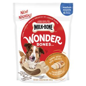 Milk-Bone Wonder Bones Chicken Medium Breed Dog Treats 533 g