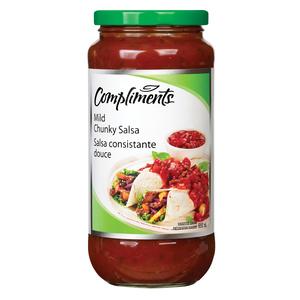 Compliments Mild Chunky Salsa 650 ml