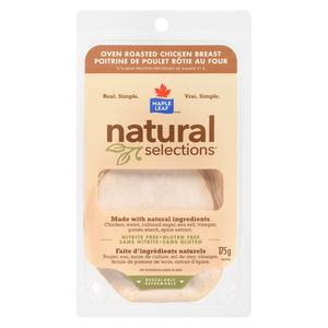 Maple Leaf Natural Selections Oven Roasted Chicken Breast 175 g