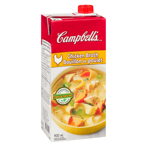 Campbell's Ready To Serve Chicken Broth 900 ml
