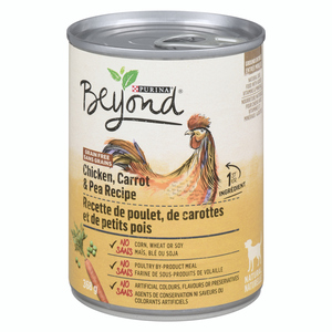 Purina Beyond Grain Free Chicken, Carrot & Pea Dog Food 368 g