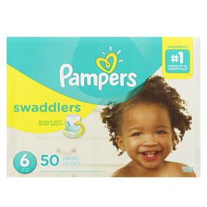Pampers Swaddlers Super S6 50 EA