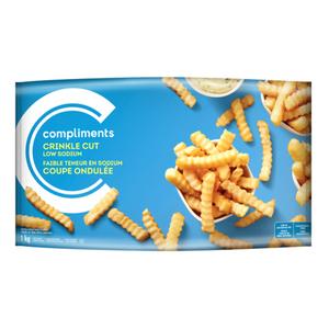 Compliments Crinkle Cut Fried Potatoes 1 kg
