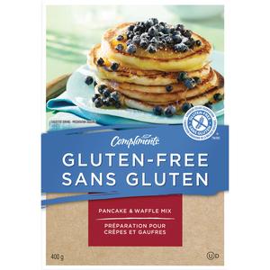 Compliments Gluten-Free Pancake & Waffle Mix 400 g