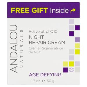 ANDALOU Naturals Resveratrol Q10 Night Repair Cream 50 ml