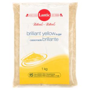 Lantic Brilliant Yellow Sugar 1 kg