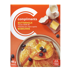 Compliments Traditional Buttermilk Pancake Mix 905 g