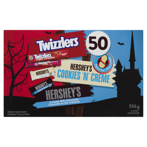 Hershey's Assorted Bars Snack Size Halloween Candy 50 EA 556 g