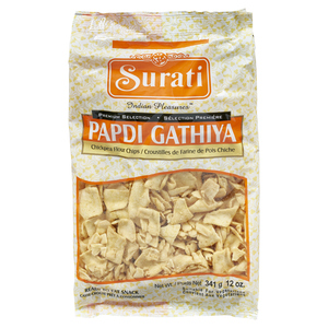 Surati Papdi Gathiya Chick Pea Flour Chips 341 g