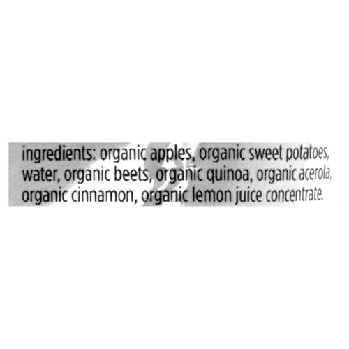 Love Child Organics Baby Food Apple, Sweet Potato, Beet & Cinnamon 128 ml