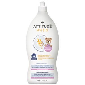 Attitude Natural Baby Bottle & Dishwashing Liquid 700 ml