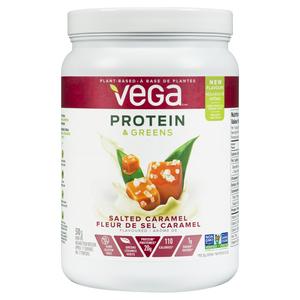 Vega Proteins & Greens Protein Powder Salted Caramel 510 g