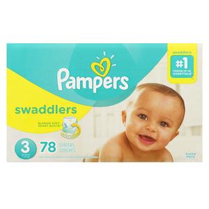 Pampers Swaddlers Super S3 78 EA