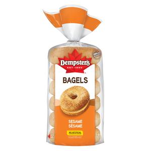 Dempster's Bagels Sesame 6 Pack 450 g
