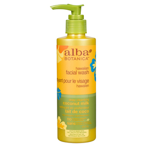Alba Botanica Hawaiian Coconut Milk Facial Wash 237 ml