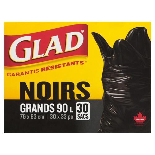 Glad Easy Tie Garbage Bags 30 EA