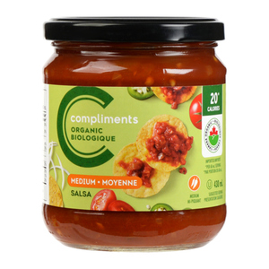 Compliments Organic Medium Salsa 430 ml