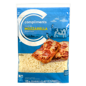 Compliments Mozzarella Shredded Cheese 320 g
