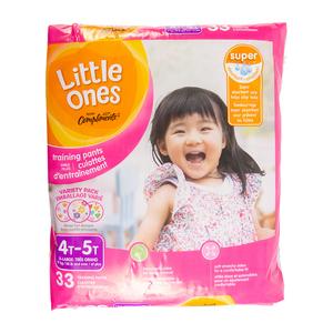 Compliments Little Ones Girls 4T-5T Mega Training Pants 33 EA