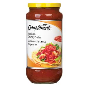 Compliments Medium Chunky Salsa 650 ml