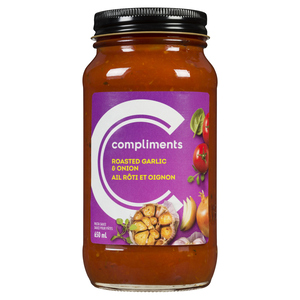 Compliments Roasted Garlic and Onion Pasta Sauce 650 ml