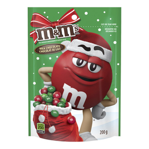 M&M's Red & Green Milk Chocolate 200 g