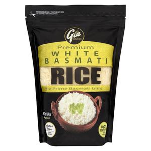 Gia Naturals Premium White Basmati Rice 907 g