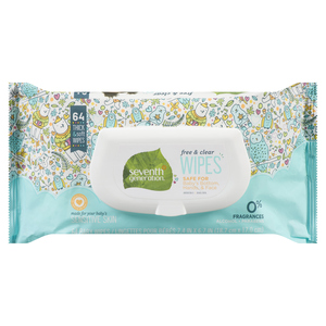 Seventh Generation Sheetssy Open Top Baby Wipes 64 Sheets