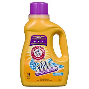 Arm & Hammer Plus Oxi Clean Odour Blasters Fresh Burst Laundry Detergent 1.81 L