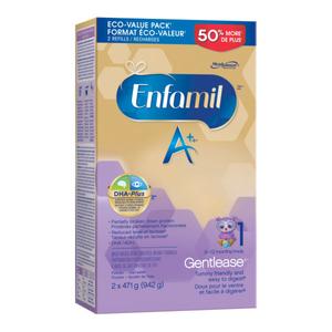 Enfamil A+ Gentlease Infant Formula Powder Refill 942 g
