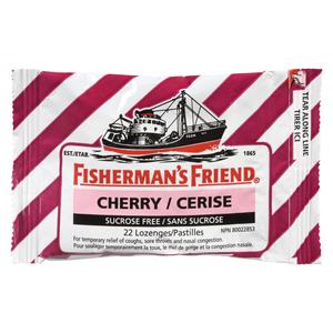 Fisherman's Friend Sucrose Free Cherry Lozenges 22 EA