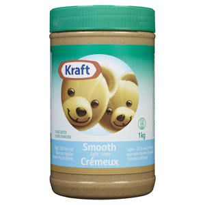 Kraft Smooth Light Peanut Butter 1 kg