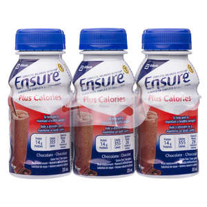 Ensure Plus Meal Replacement Chocolate 6 x 235 ml