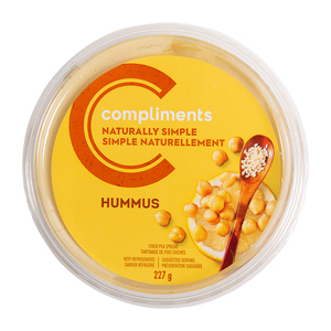 Compliments Naturally Simple Traditional Hummus 227 g