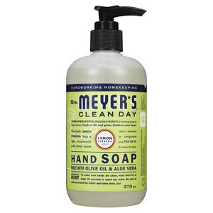 Mrs. Meyer's Clean Day Hand Soap Lemon Verbina 370 ml