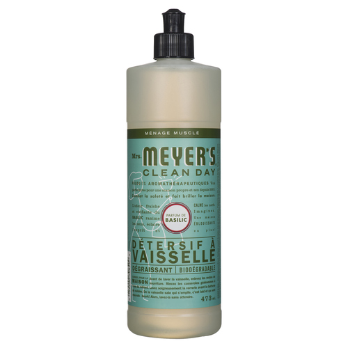 Mrs. Meyer's Clean Day Dish Soap Basil 473 ml