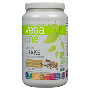 Vega One All-In-One Supplement Shake Coconut Almond 834 g