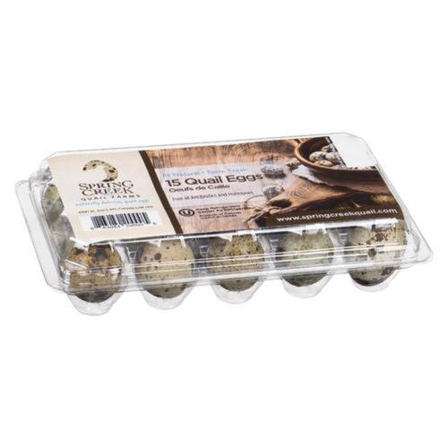 Spring Creek Fresh Quail Eggs 15 EA