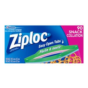 Ziploc Snack Bags 90 EA